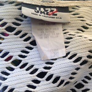 Jazz Tops - Vintage cotton front tie crop top